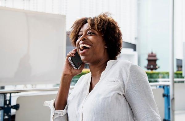 Pouvoir joindre par téléphone directement son conseiller financier est très apprécié par les clients